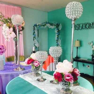 Large Crystal Centerpiece picture 1