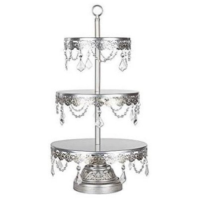 Silver Cupcake Stand picture 1