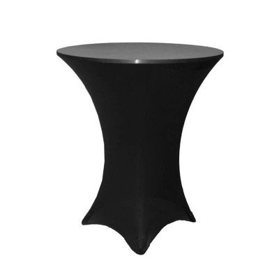 """30"""" Cocktail Table Spandex Tablecloth picture 1"""
