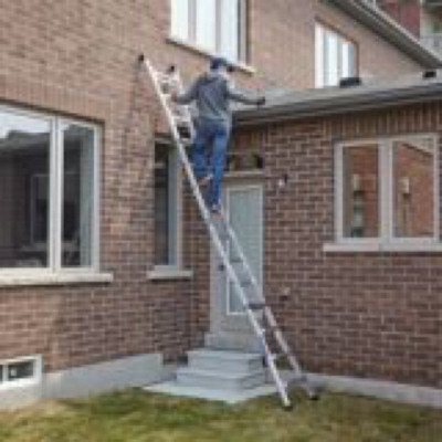 mastercraft 21' ladder, scaffold-3