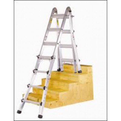 mastercraft 21' ladder, scaffold-4