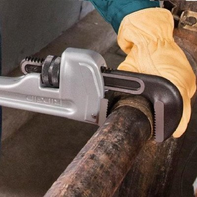 aluminum straight pipe wrench picture 1