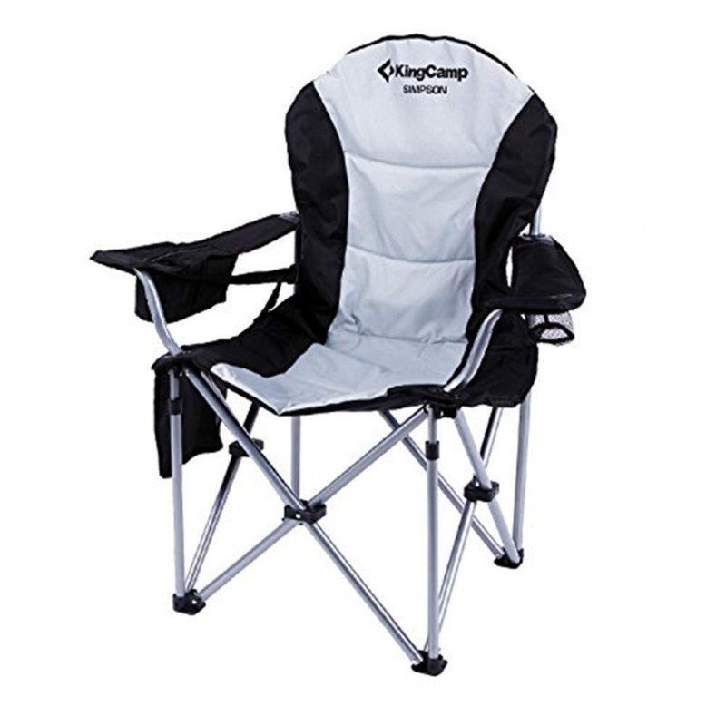 heavy duty folding deluxe large size camping chair-1