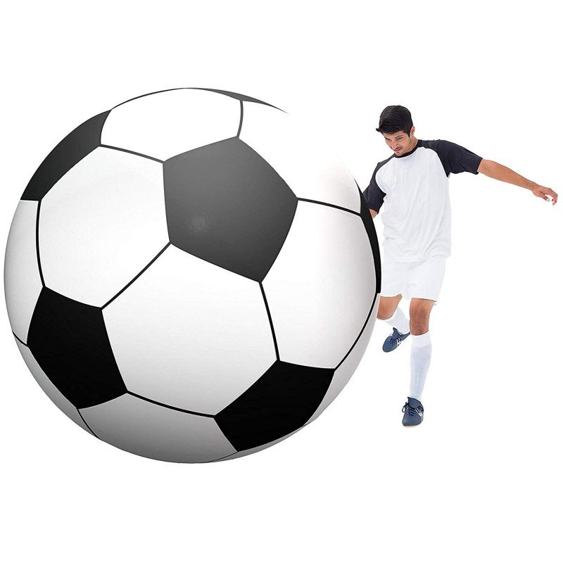 giant inflatable soccerball-1