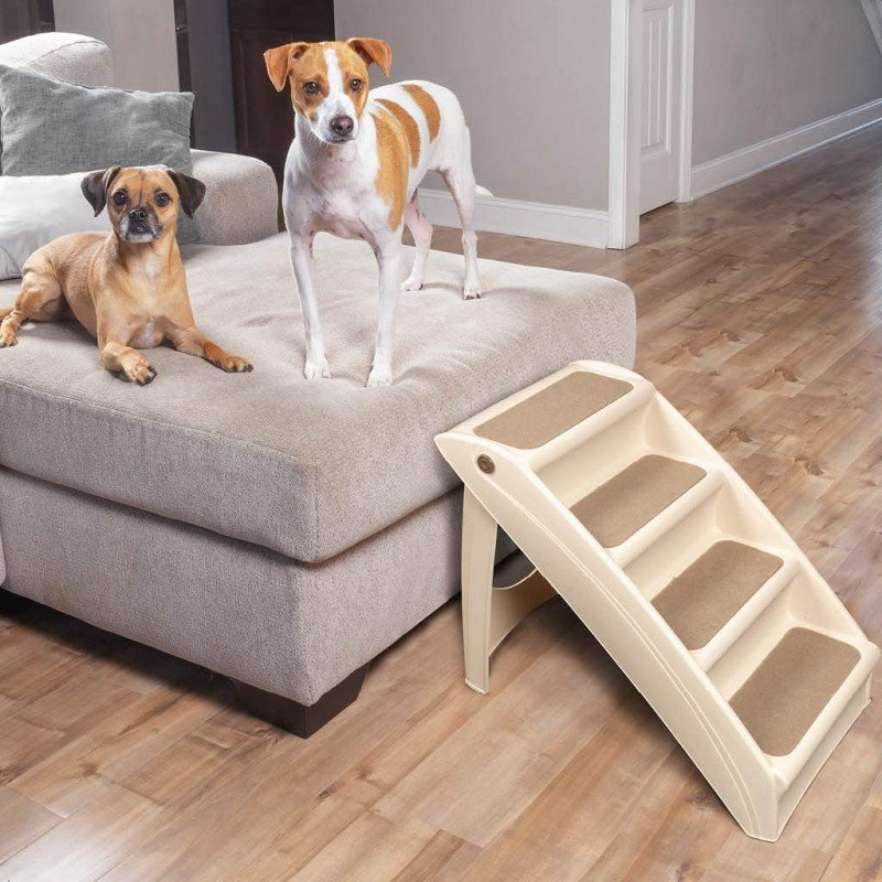 foldable steps for dogs