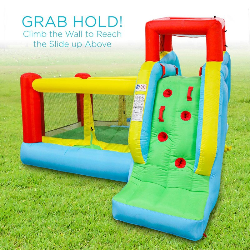 deluxe inflatable water slide park-1