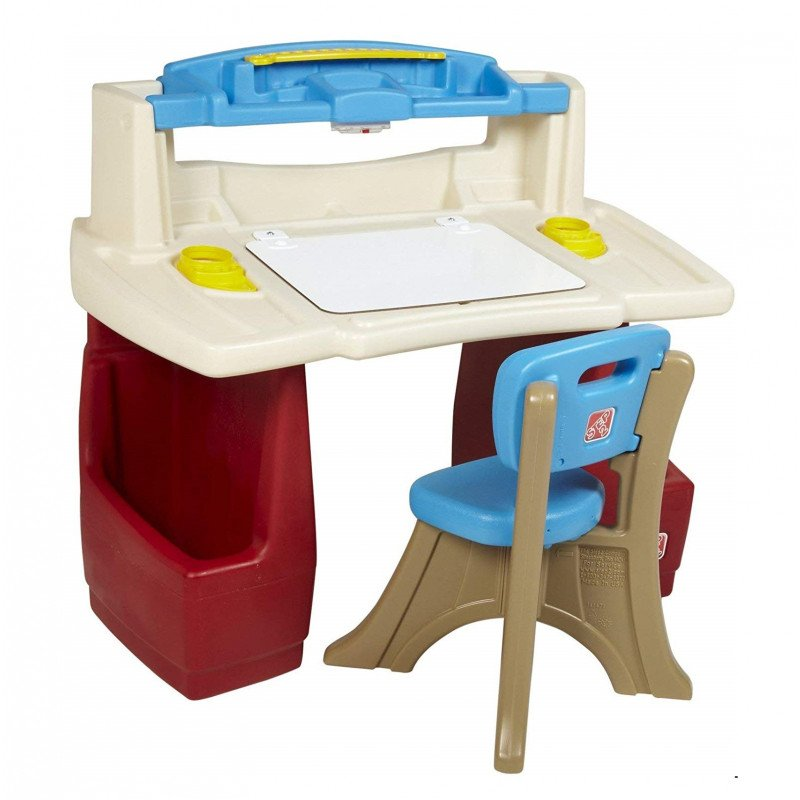 step 2 deluxe art desk
