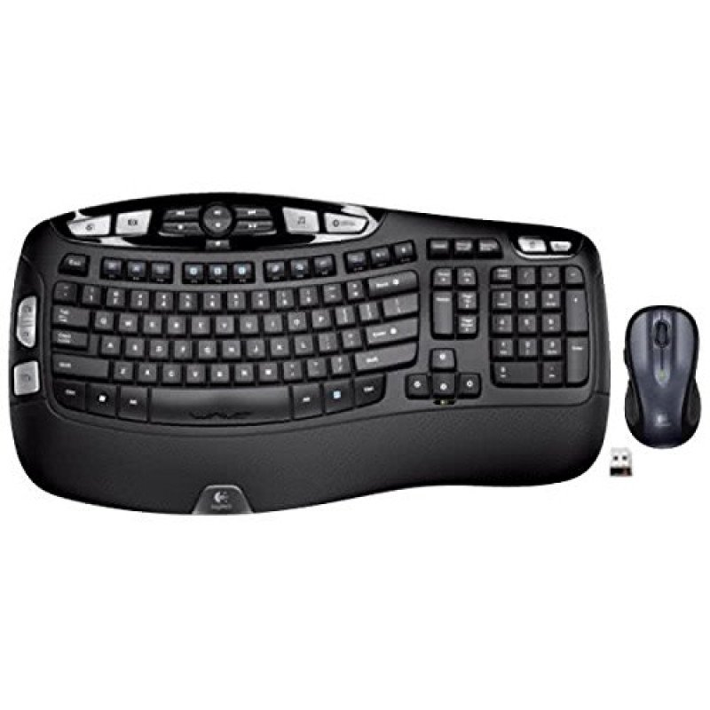wireless wave keyboard and mouse combo