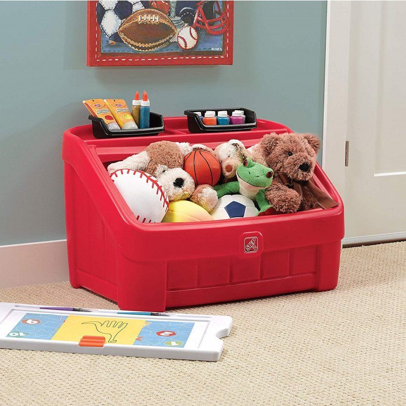 step 2 toy box and art lid-1