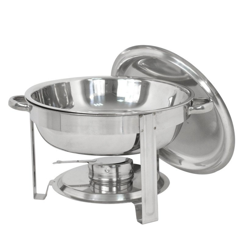 stainless steel chafing dish round-1