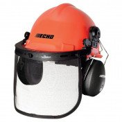 Safety Helmet System for Chainsaws