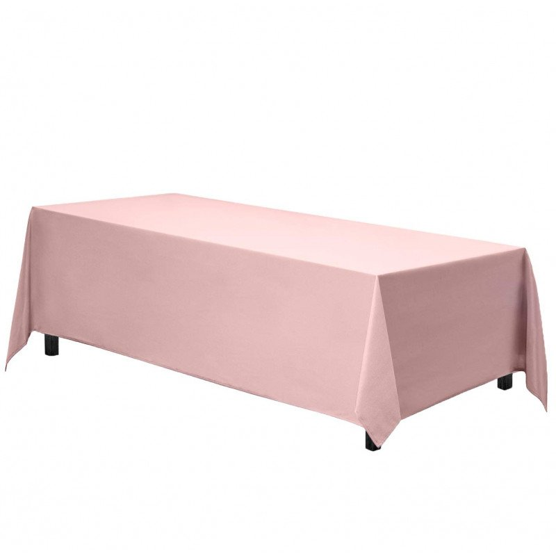 rectangle tablecloth - pink
