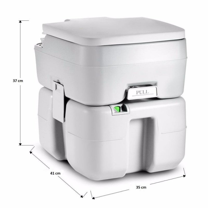 outdoor portable toilet with carrying bag-1