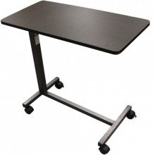 medical non tilt top overbed table