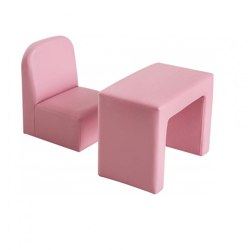 kids table and sofa chair set-1