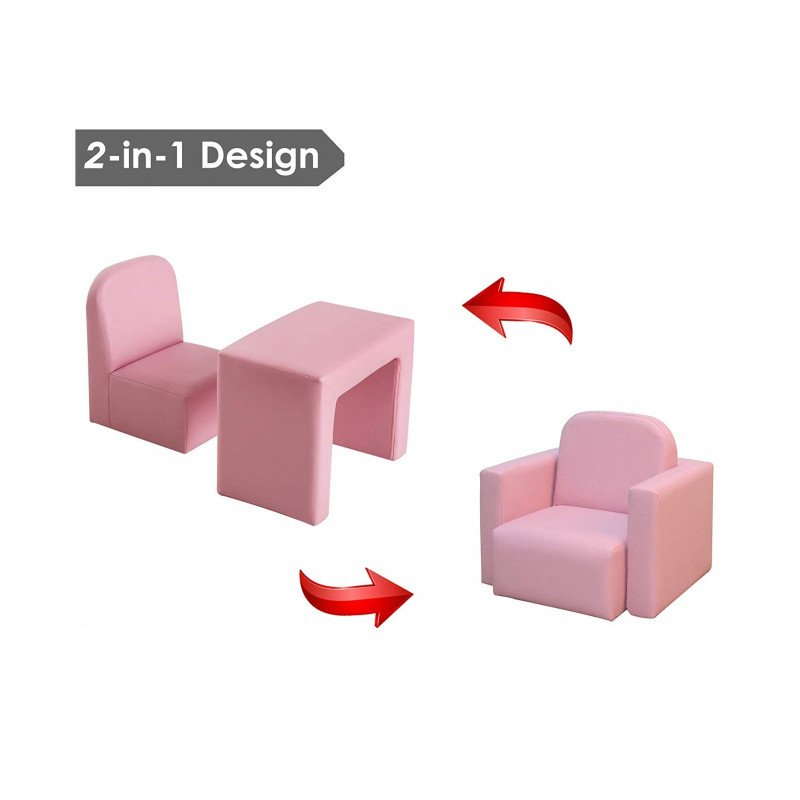 kids table and sofa chair set-3
