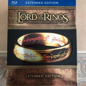 Lord of The Rings Trilogy Extended sedition Blu-Ray