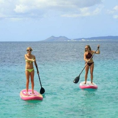 inflatable stand up paddle board - silver shark-4