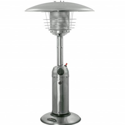 portable tabletop stainless steel patio heater-2