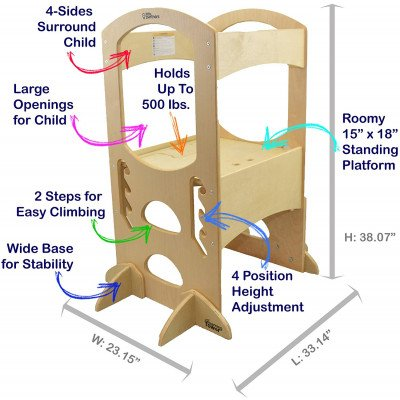 step stools - learning tower-1