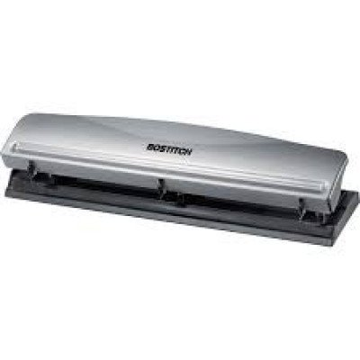 3 hole punch - 12 sheet capacity