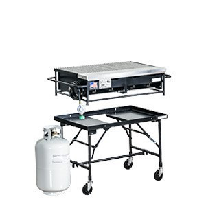 Commercial 3' Propane BBQ Grill