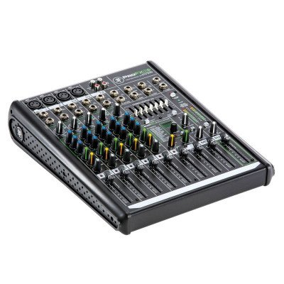 8-channel professional mixer picture 2