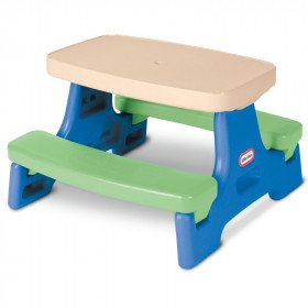 Little Tikes Easy Store Junior Picnic Table