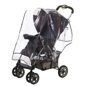 Rain cover for Single and Double Strollers/Car Seats