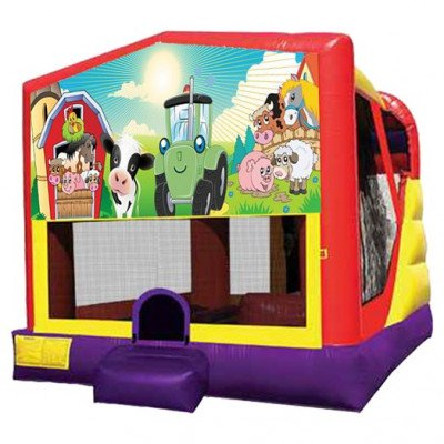 XL Barnyard Farm Combo Inflatable picture 1
