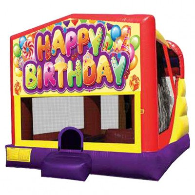 XL Birthday Combo Inflatable picture 1