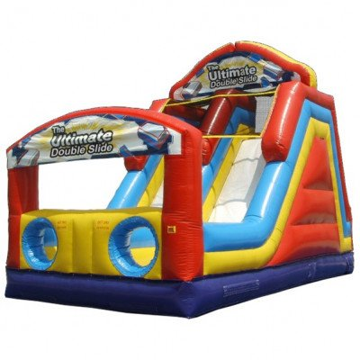 Ultimate Double Inflatable Slide picture 1