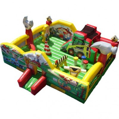 Little Builders Construction Toddler Inflatable Playland picture 1