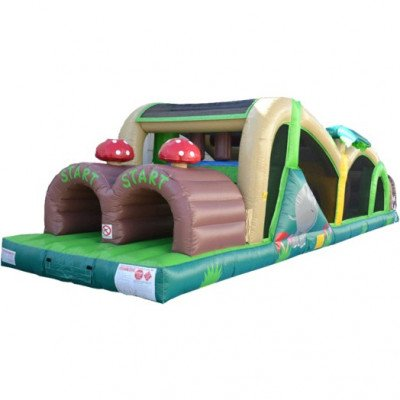 40' Extreme Inflatable Obstacle Course picture 1