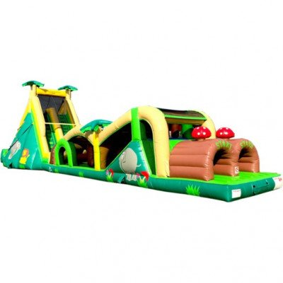 78' Extreme Rush Inflatable Obstacle Course picture 1