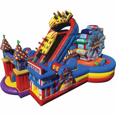 Midway Amusement Park Inflatable Obstacle Course picture 1