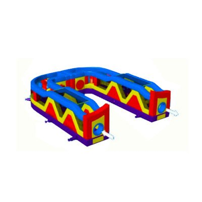 Ultimate There'n Back Inflatable Obstacle Course picture 1