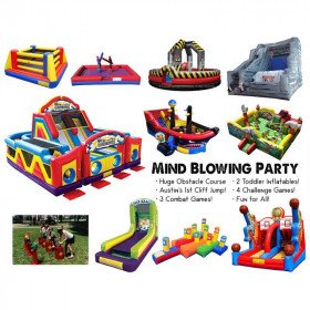 Mind Blowing Party Inflatable Package
