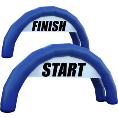 Starting Line and Finish Line Arches - Inflatable Arch picture 1
