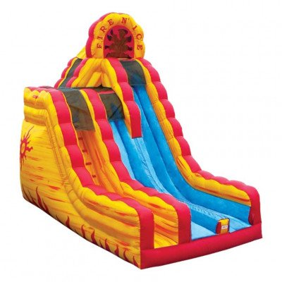 Fire'n Ice Dual Lane Water Inflatable Slide picture 1