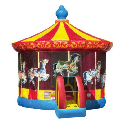 Carousel Inflatable Bouncer picture 1