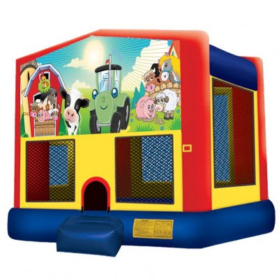 Barnyard Farm Inflatable Bouncer picture 1