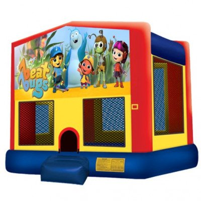 Beat Bugs Inflatable Bouncer picture 1