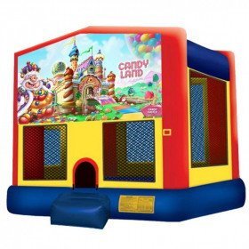 Candy Land Inflatable Bouncer