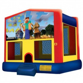 Minecraft Inflatable Bouncer