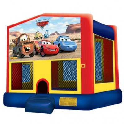 Cars Inflatable Bouncer picture 1