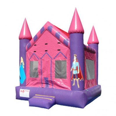 Pink Princess Inflatable Castle picture 1