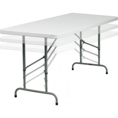 6 Foot Height Adjustable Buffet Table picture 1