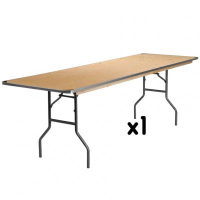 8 Foot Rectangular Table picture 1