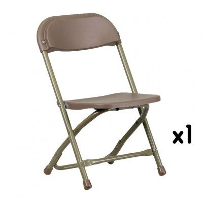 Kids Brown Folding Chair picture 1